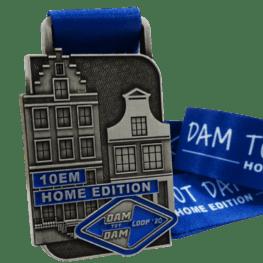 Virtual run medaille Damloop