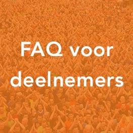 FAQ voor deelnemers