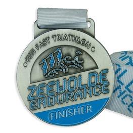 Triatlon medaille Zeewolde Endurance