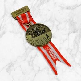 Medaille met kort halslint 100 KM Ieper