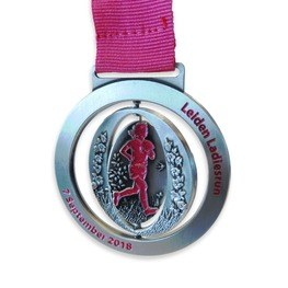 Ladies Run medaille Leiden