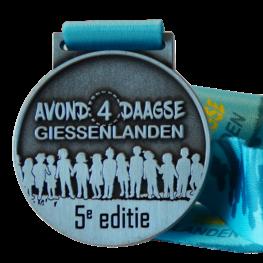 Avond4daagse Giessenlanden medaille