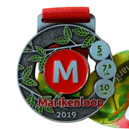 Ladies Run medaille Marikenloop