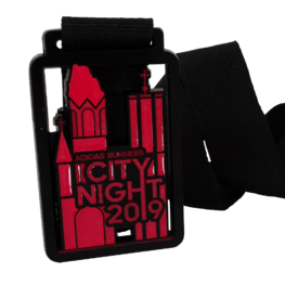 City night run medaille