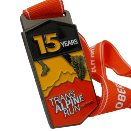 Trans Alpine Run medaille