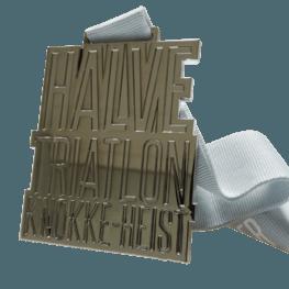 Halve Triatlon Knokke-Heist medaille