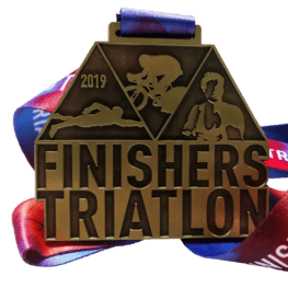 Triatlon medaille