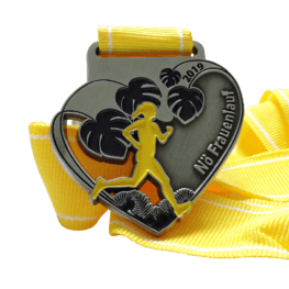 Ladies run medaille
