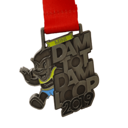 Kinds Run medaille Dam tot Damloop