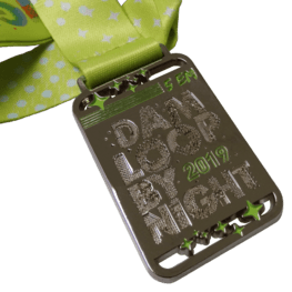Night run medaille Damloop
