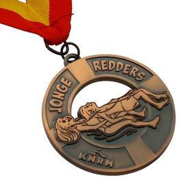 Wedstrijdzwemmen medaille Jonge Redders KNRM