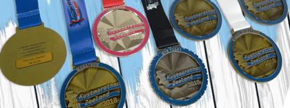 Kustmarathon Zeeland medailles