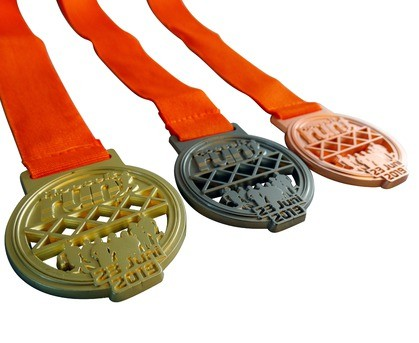 Matt medaille