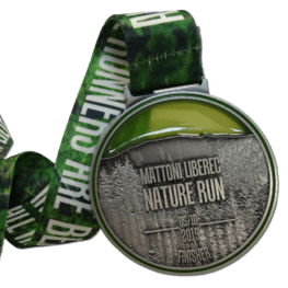 Nature run medaille