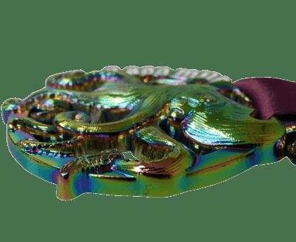 Medaille met Olie-effect