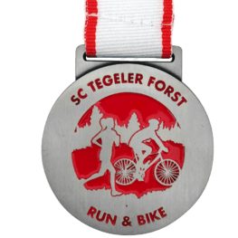 Run & Bike medaille