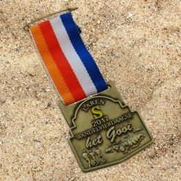 Medaille met kort halslint Het Gooi
